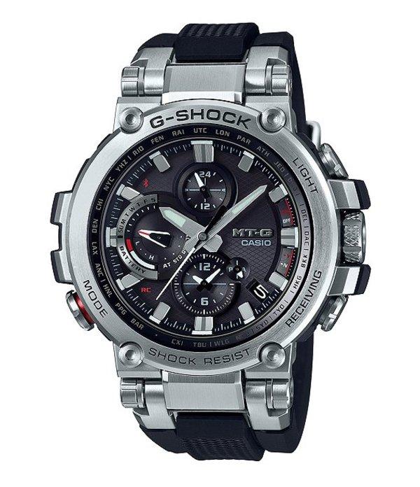 ジーショック メンズ 腕時計 アクセサリー Analog Stainless Steel Shock Resistant Watch Black