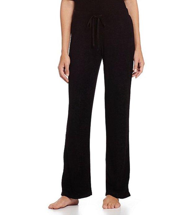 エヌバイナトリ レディース カジュアルパンツ ボトムス Terry Lounge Pajama Pants Black