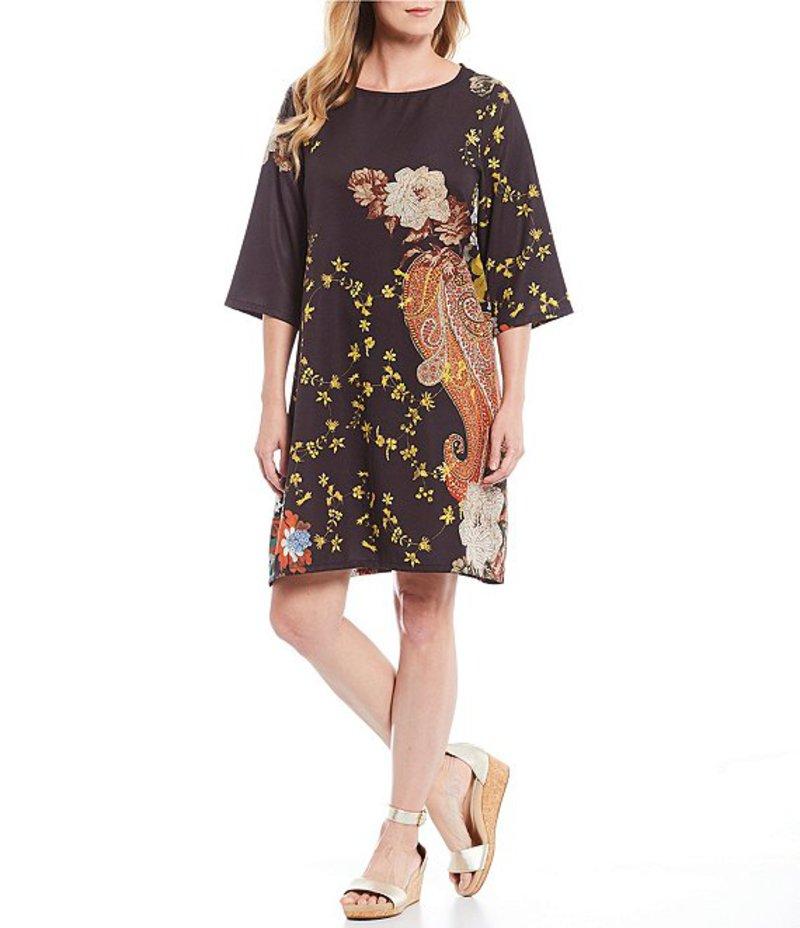ブライン ウォーカー レディース ワンピース トップス Hester Floral Print Shift Dress Black/Multi