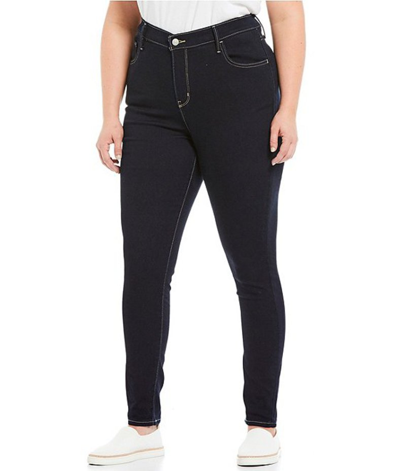 リーバイス レディース デニムパンツ ボトムス Levi'sR Plus Size High Rise Super Skinny Jeans Indigo Atlas