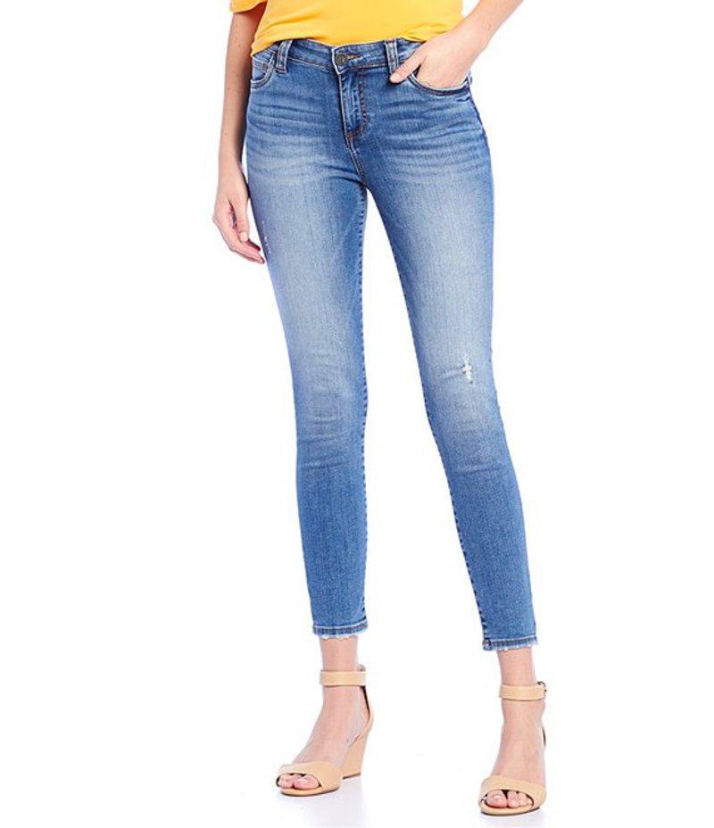 カットフロムザクロス レディース デニムパンツ ボトムス Connie Ankle Slight Destruction Detail Skinny Jeans Consciously