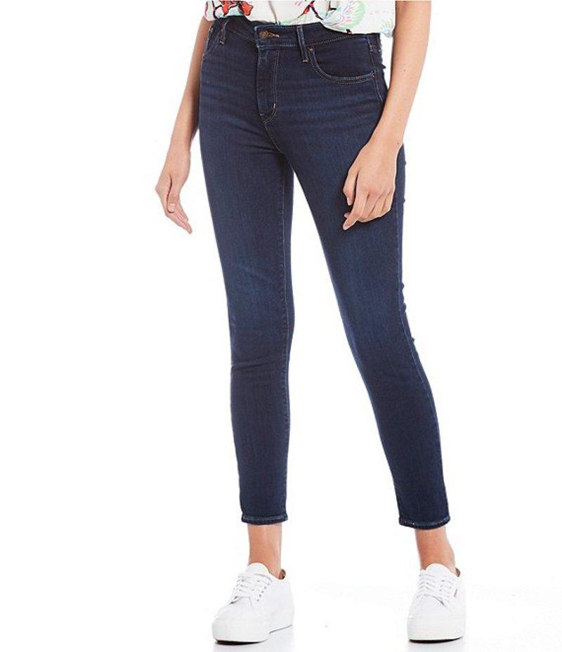 リーバイス レディース デニムパンツ ボトムス 721 High Rise Ankle Skinny Jeans Carbon Bay Blue