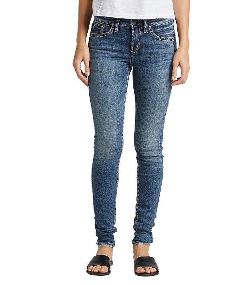 シルバー ジーンズ レディース デニムパンツ ボトムス Avery Skinny Jeans Indigo