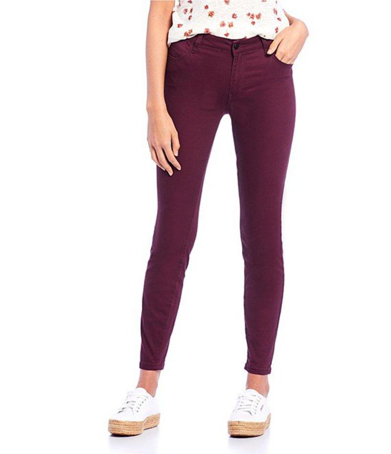 セレブリティピンク レディース デニムパンツ ボトムス Mid Rise Super Soft Color Skinny Pants Winetastin