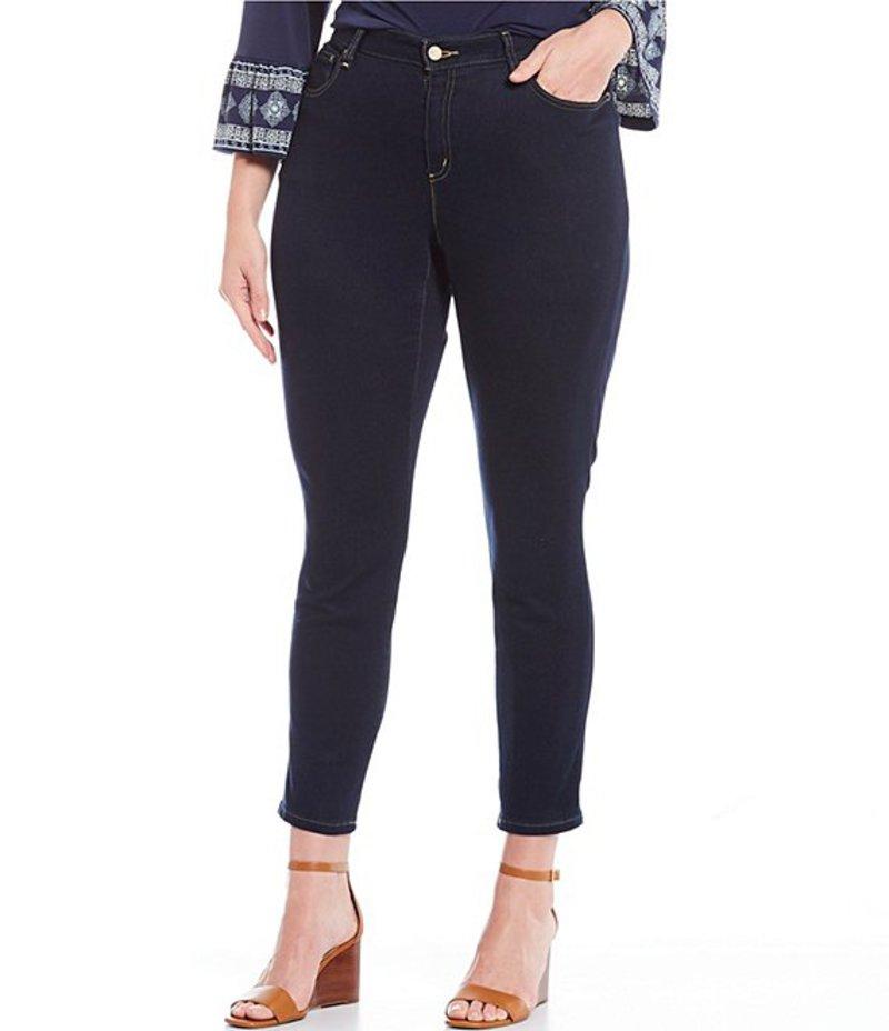 マイケルコース レディース デニムパンツ ボトムス Plus Size Super Stretch Denim High Waist Skinny Jeans Dark Rinse