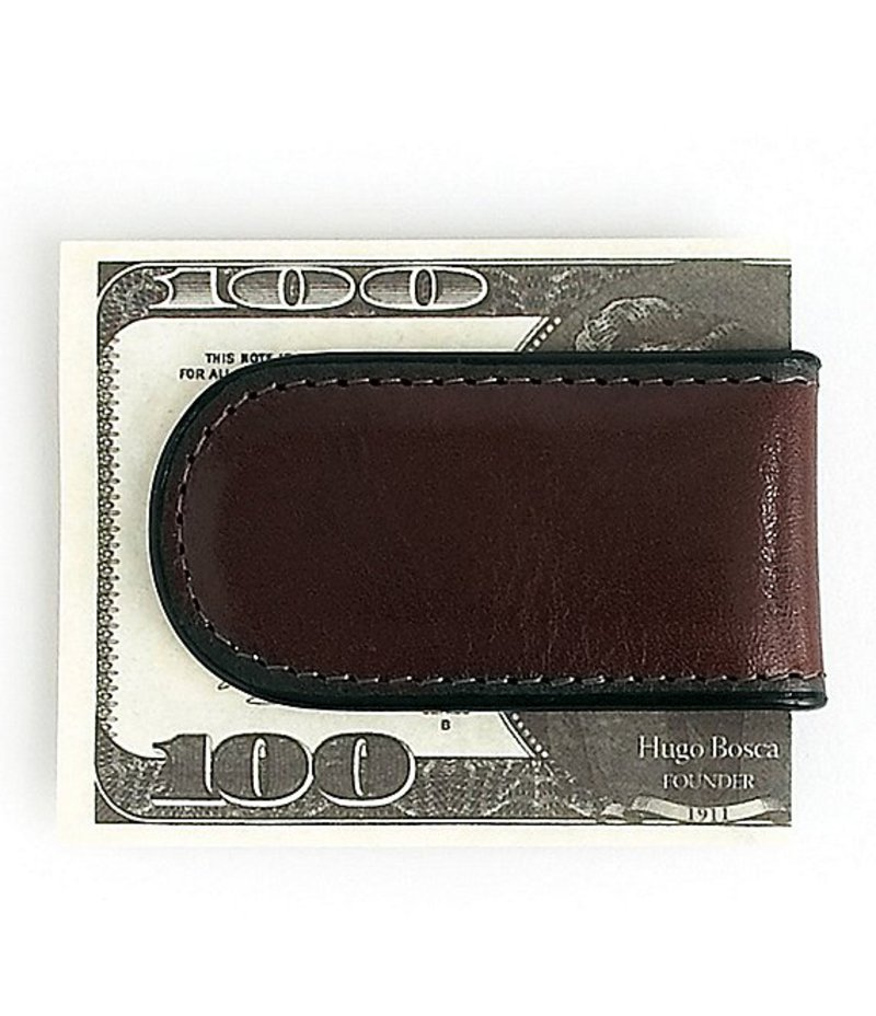 ボスカ メンズ 財布 アクセサリー Money Clip Dark Brown