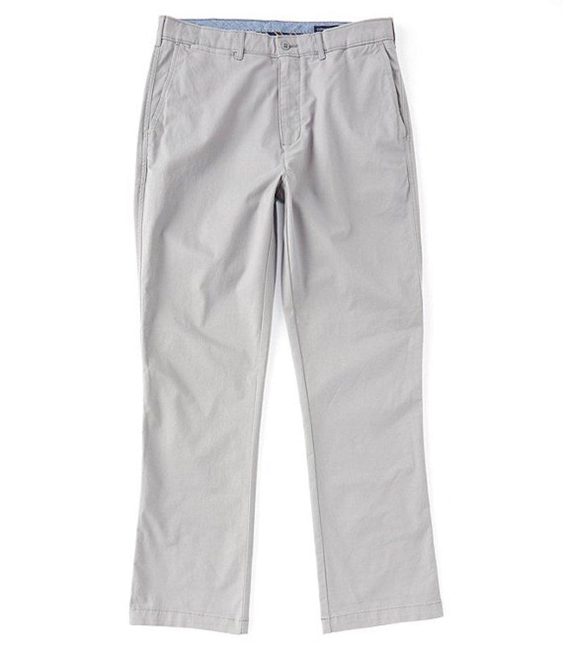 ダニエル クレミュ メンズ カジュアルパンツ ボトムス Madison Flat-Front Twill Chino Pants Grey
