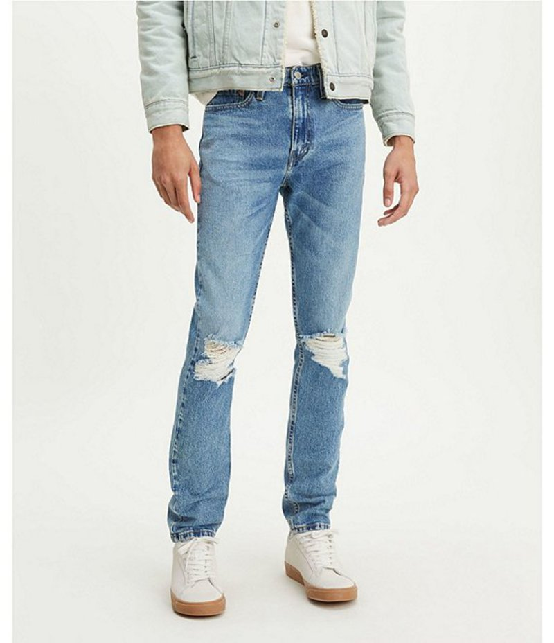 リーバイス メンズ デニムパンツ ボトムス Levi'sR 510 Skinny Fit Destructed Jeans Morpho