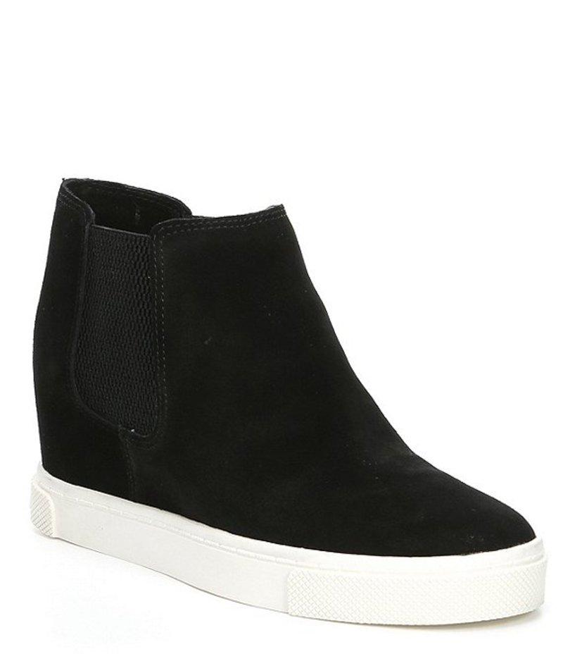 ジービー レディース スニーカー シューズ Kick Off Suede Double-Gore Wedge Sneakers Black