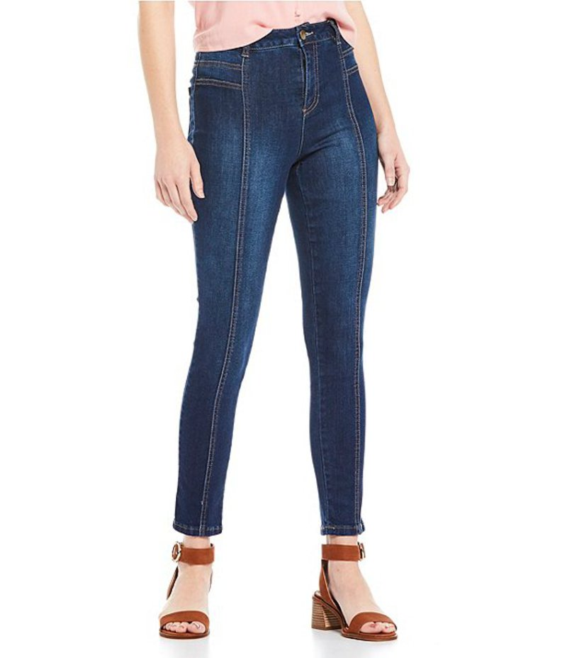 ジービー レディース デニムパンツ ボトムス High Rise Skinny Jeans blue