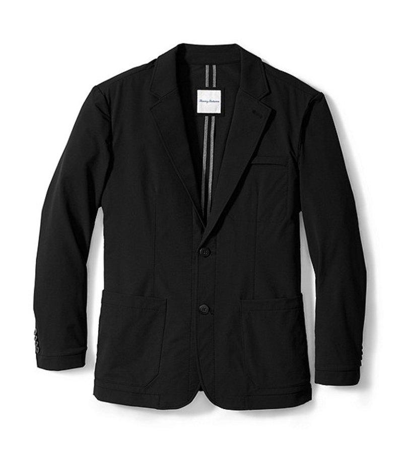 トッミーバハマ メンズ ジャケット・ブルゾン アウター Mercer Stretch Blazer Black