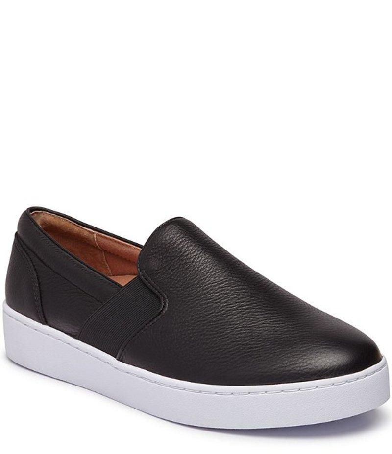 バイオニック レディース スリッポン・ローファー シューズ Demetra Leather Slip On Sneakers Black
