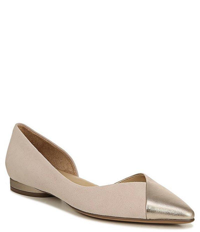 ナチュライザー レディース パンプス シューズ Hayden Suede Dress Flats Soft Marble/Bronze