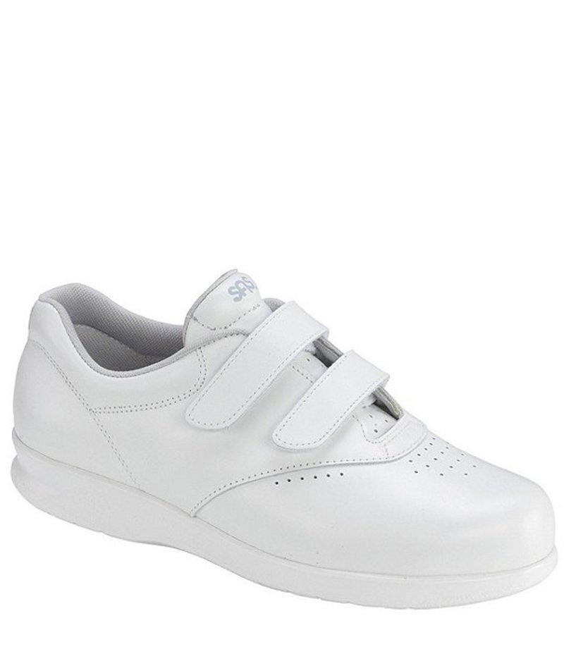 サス レディース スニーカー シューズ Me Too Leather Walking Shoe White