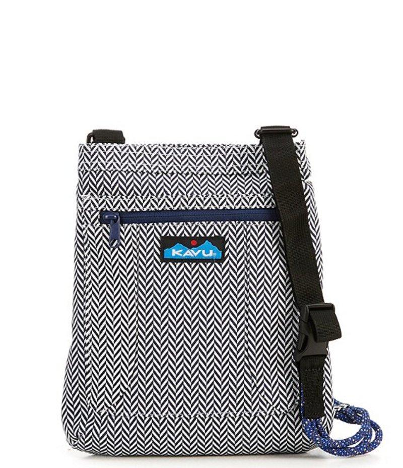 カブー レディース ショルダーバッグ バッグ Keepalong Printed Cross-Body Bag Herringbone