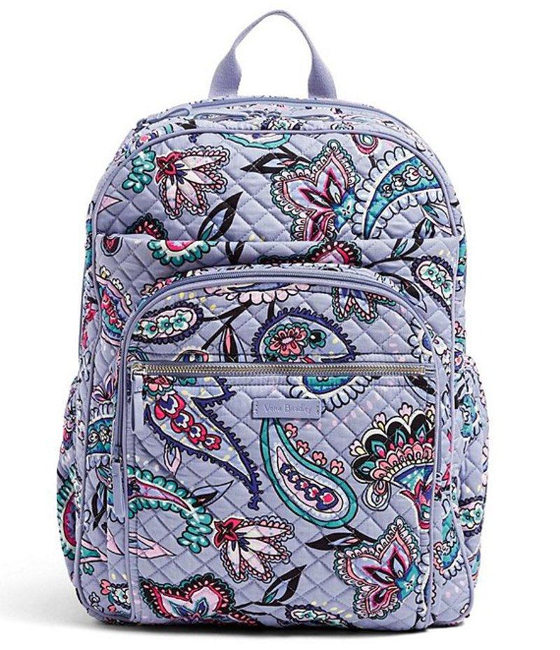 ベラブラッドリー レディース ハンドバッグ バッグ Iconic XL Campus Backpack Makani Paisley
