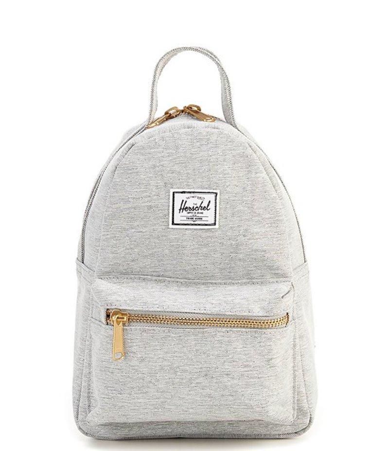 ハーシェルサプライ レディース バックパック・リュックサック バッグ Nova Mini Zip Closure Backpack Light Gray Crosshatch
