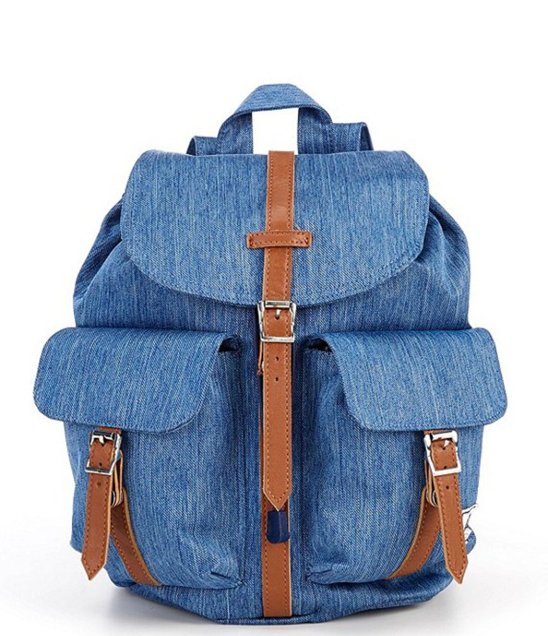 ハーシェルサプライ レディース バックパック・リュックサック バッグ Dawson Small Backpack Faded Denim