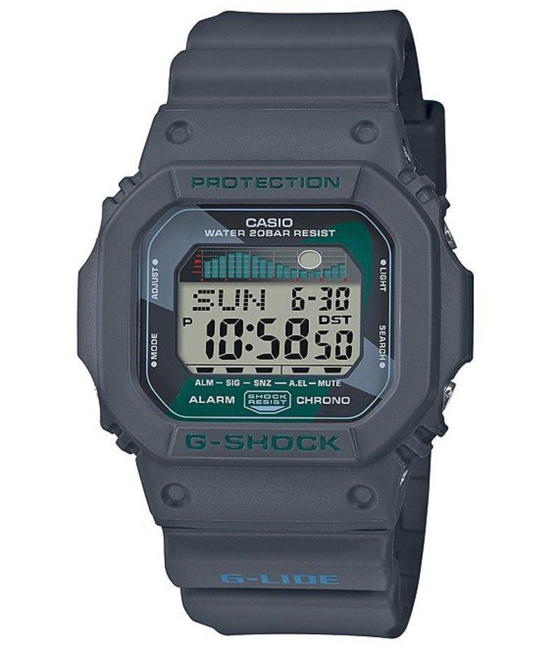 ジーショック メンズ 腕時計 アクセサリー Digital Silver Skeleton Shock Resistant Watch Black
