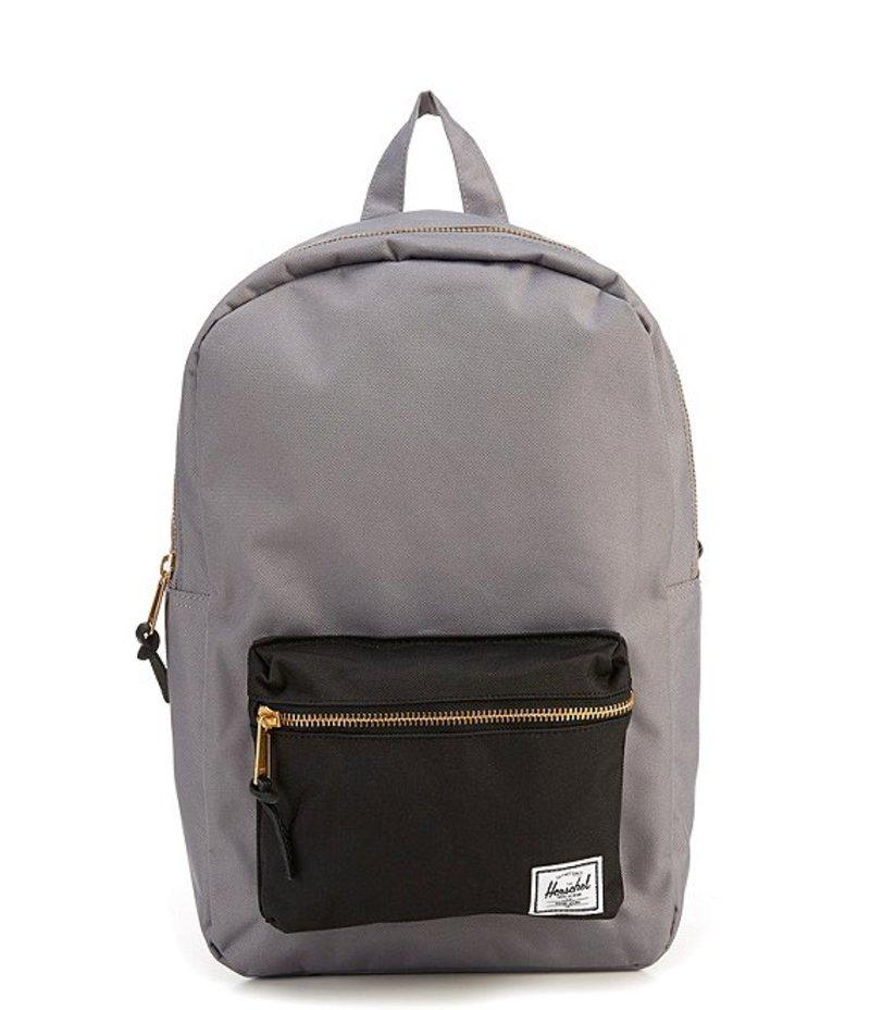 ハーシェルサプライ レディース バックパック・リュックサック バッグ Settlement Colorblock Mid-Volume Backpack Grey/Black
