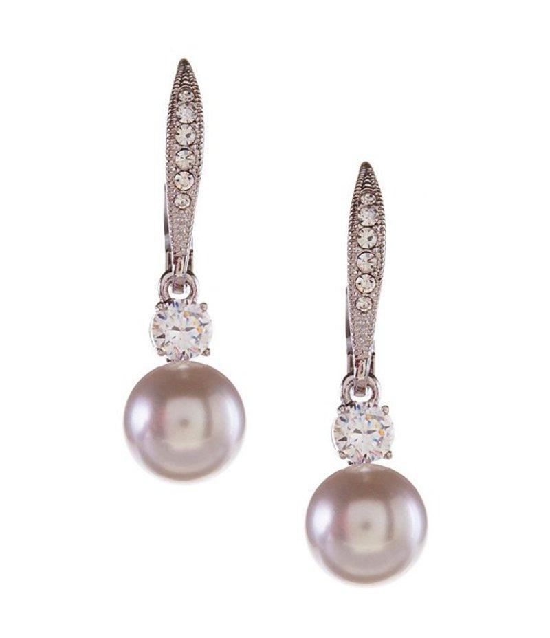 ナディール レディース ピアス・イヤリング アクセサリー Faux-Pearl Drop Earrings Clear