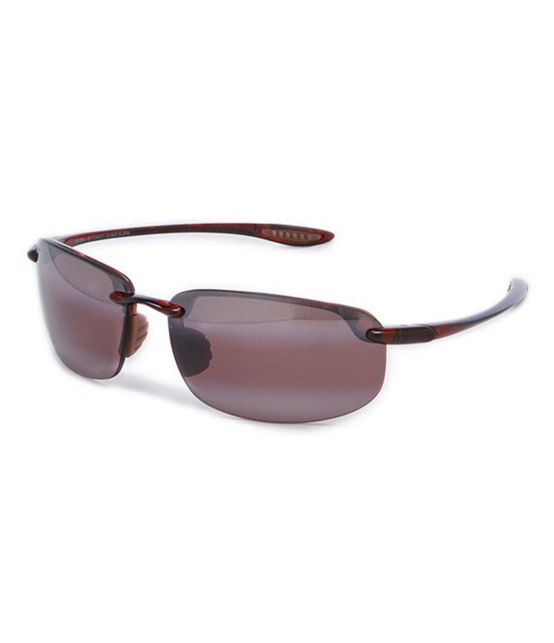 マウイジム メンズ サングラス・アイウェア アクセサリー Ho'okipa Polarized Grilamid PolarizedPlusR2 Glare and UV Protection Sunglasses Tortoise