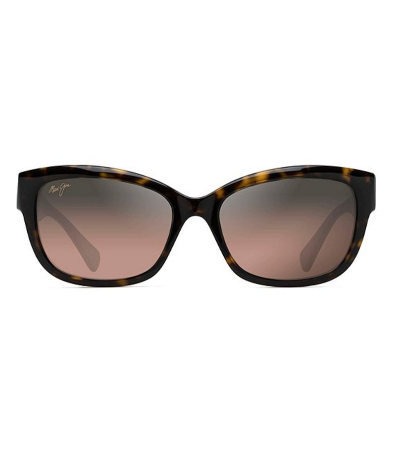 送料無料 サイズ交換無料 マウイジム レディース アクセサリー サングラス・アイウェア Dark Tortoise マウイジム レディース サングラス・アイウェア アクセサリー Plumeria Gradient Square Cat Eye Polarized Sunglasses Dark Tortoise