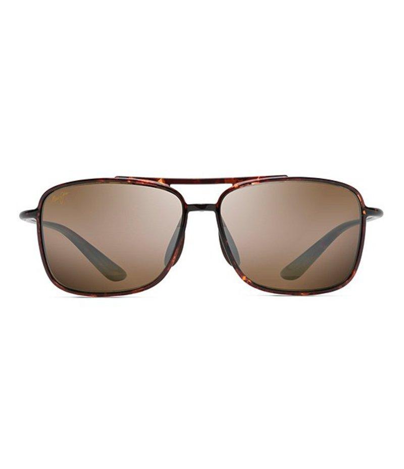 マウイジム レディース サングラス・アイウェア アクセサリー Kaupo Gap Navigator Polarized Sunglasses Tortoise