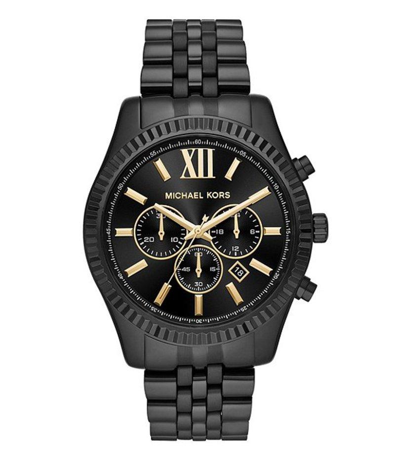 マイケルコース メンズ 腕時計 アクセサリー Men's Lexington Watch Black