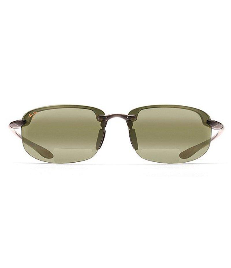 マウイジム レディース サングラス・アイウェア アクセサリー Ho'okipa Reader Sunglasses Smoke Grey