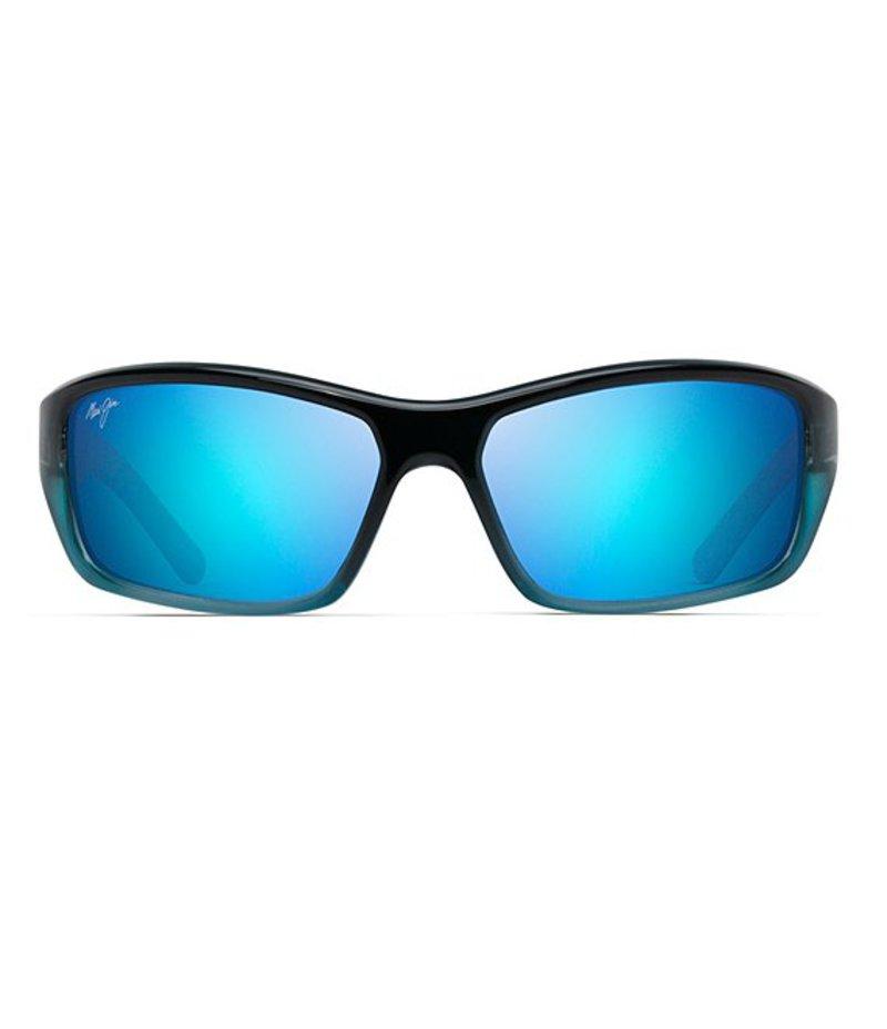 マウイジム メンズ サングラス・アイウェア アクセサリー Barrier Reef Polarized Sunglasses Blue/Turquoise