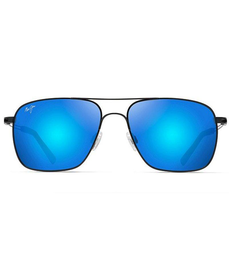 マウイジム レディース サングラス・アイウェア アクセサリー Haleiwa Polarized Sunglasses Gloss Black
