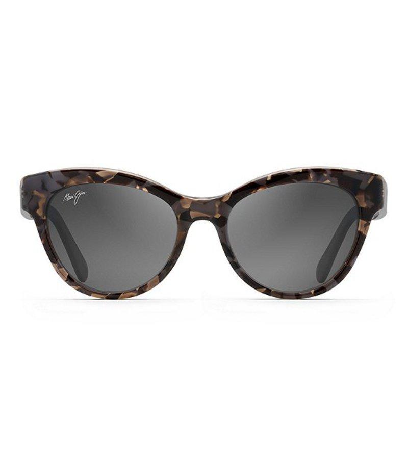 マウイジム レディース サングラス・アイウェア アクセサリー Ku'Uipo Polarized Cat Eye Sunglasses Dove Grey