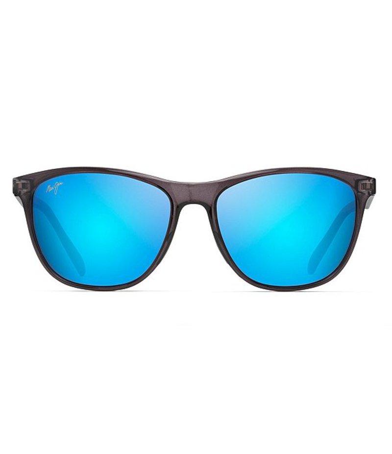 マウイジム レディース サングラス・アイウェア アクセサリー Sugar Cane Polarized Classic Sunglasses Translucent Grey