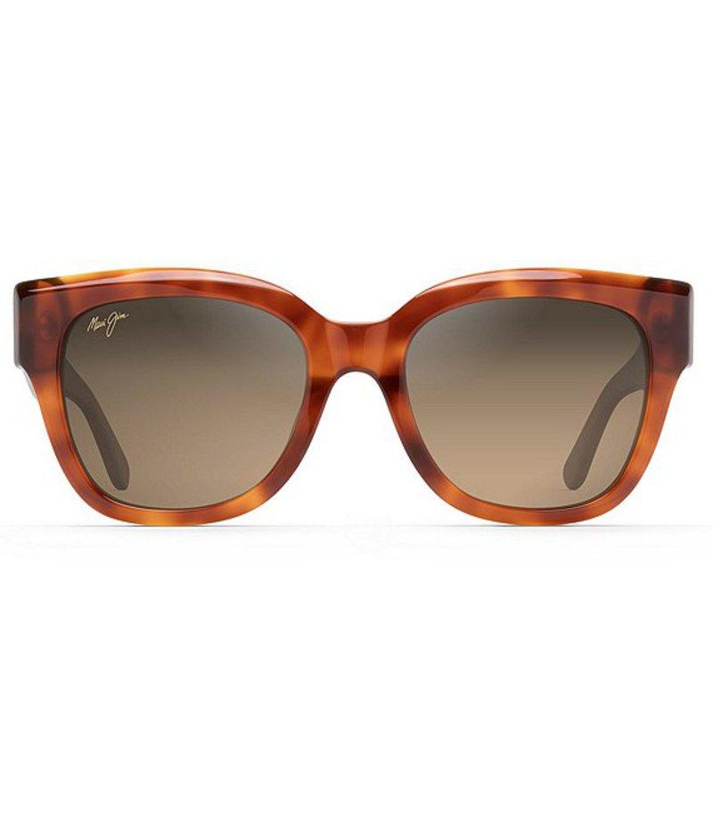 マウイジム レディース サングラス・アイウェア アクセサリー Siren Song Polarized Cat Eye Sunglasses KOA Tortoise
