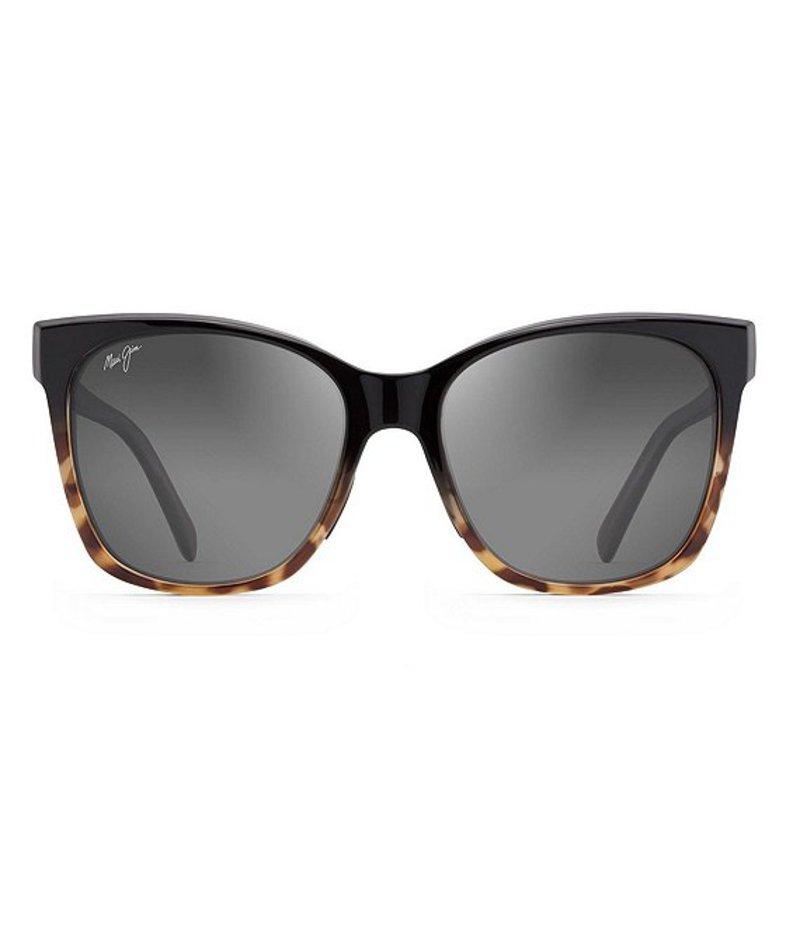 マウイジム レディース サングラス・アイウェア アクセサリー Alekona Polarized Fashion Sunglasses Black Tokyo Tortoise