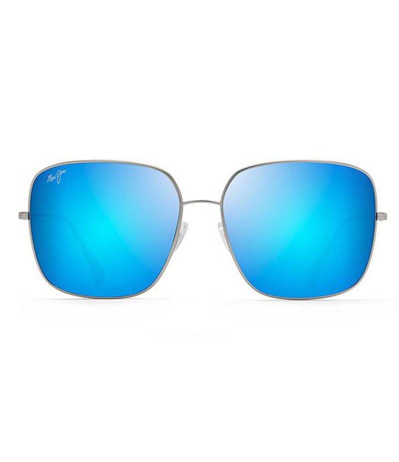 マウイジム レディース サングラス・アイウェア アクセサリー Triton Polarized Fashion Sunglasses Titanium
