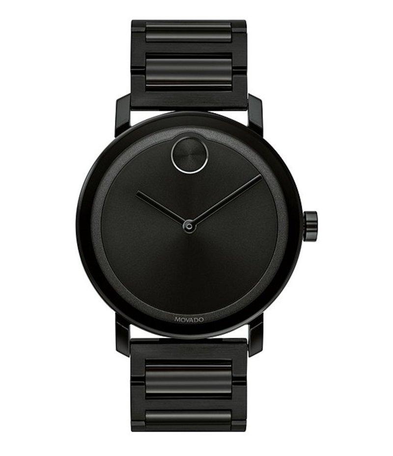 モバード メンズ 腕時計 アクセサリー Evolution Large Thin Black IP Bracelet Watch Black