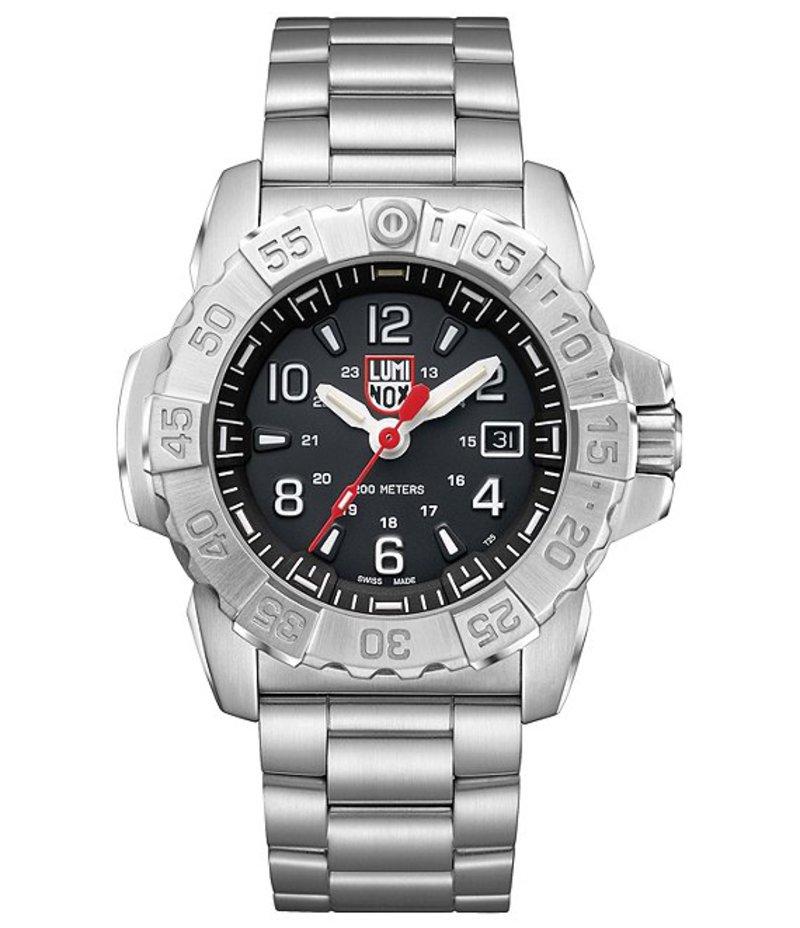 ルミノックス メンズ 腕時計 アクセサリー Navy SEAL Steel 3252 Watch Silver