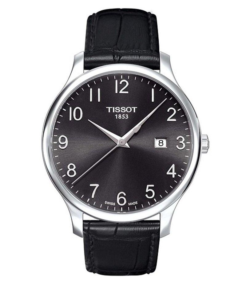 ティソット メンズ 腕時計 アクセサリー Tradition Watch Black