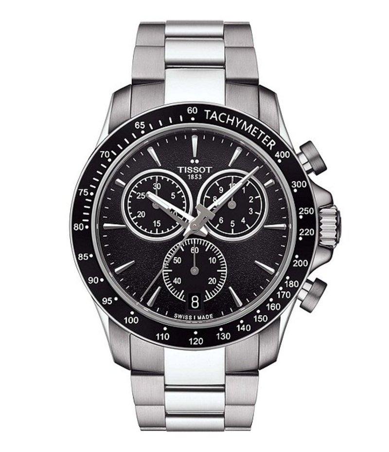 ティソット メンズ 腕時計 アクセサリー V8 Quartz Chronograph Watch Silver