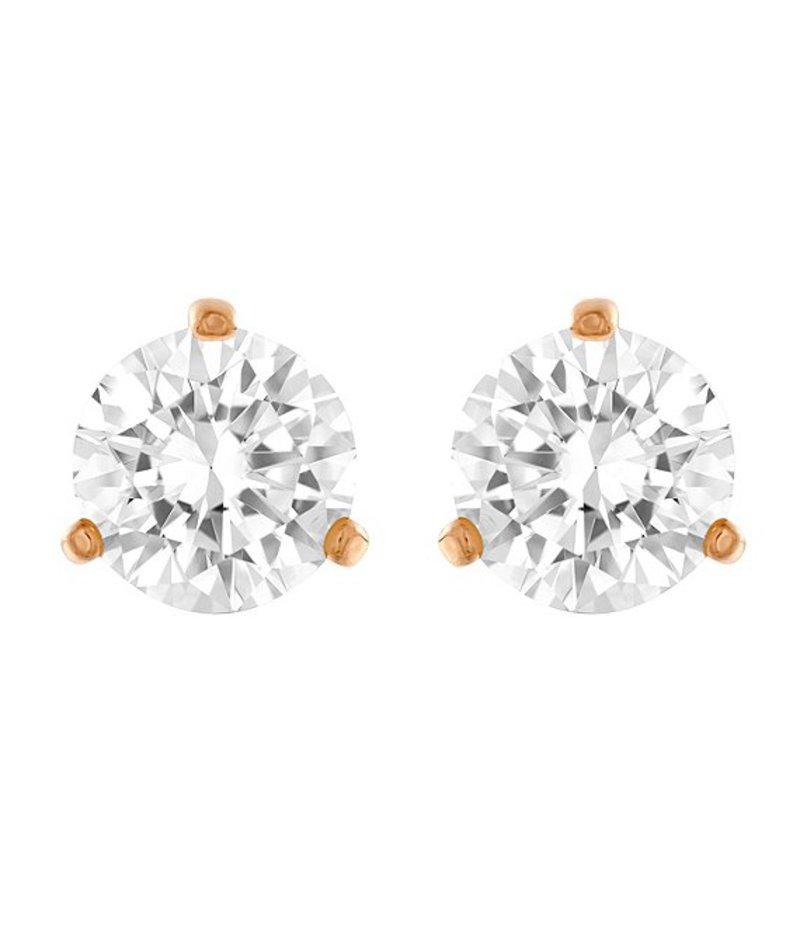 スワロフスキー レディース ピアス・イヤリング アクセサリー Solitaire Stud Earrings White/Multi