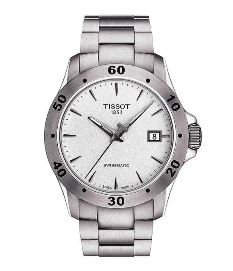 ティソット メンズ 腕時計 アクセサリー V8 Swissmatic Watch Silver