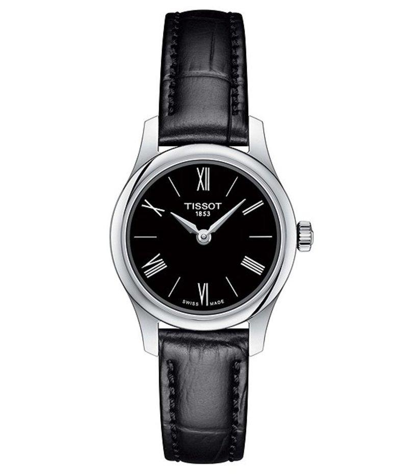 ティソット レディース 腕時計 アクセサリー Tradition 5.5 Lady Analog Watch Black