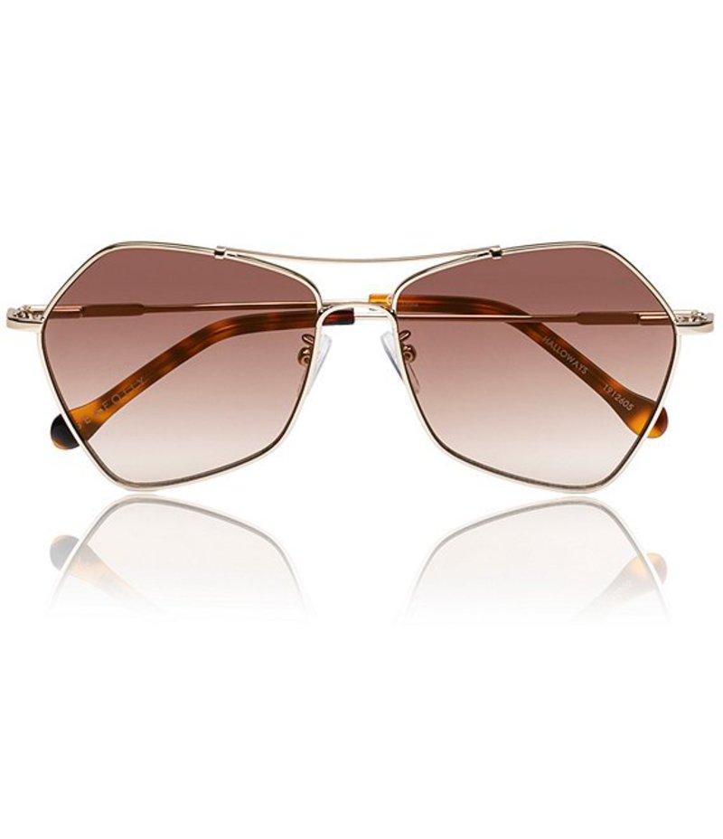 シーフォリー レディース サングラス・アイウェア アクセサリー Australia Halloways Sunglasses Gold