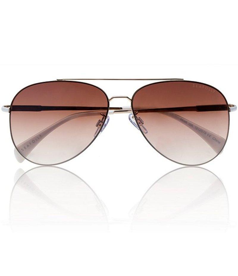 シーフォリー レディース サングラス・アイウェア アクセサリー Australia Hiva Oa Sunglasses Light Gold