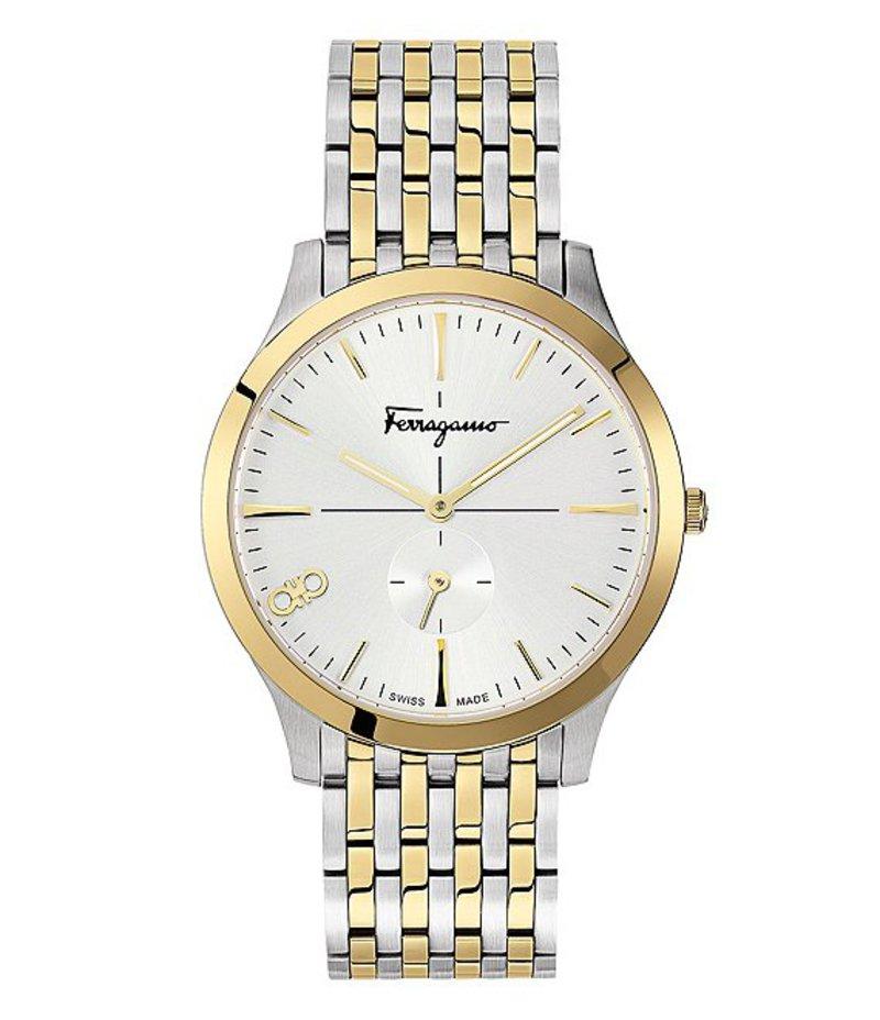 サルヴァトーレ フェラガモ メンズ 腕時計 アクセサリー Slim Two Tone Bracelet Watch Two-Tone