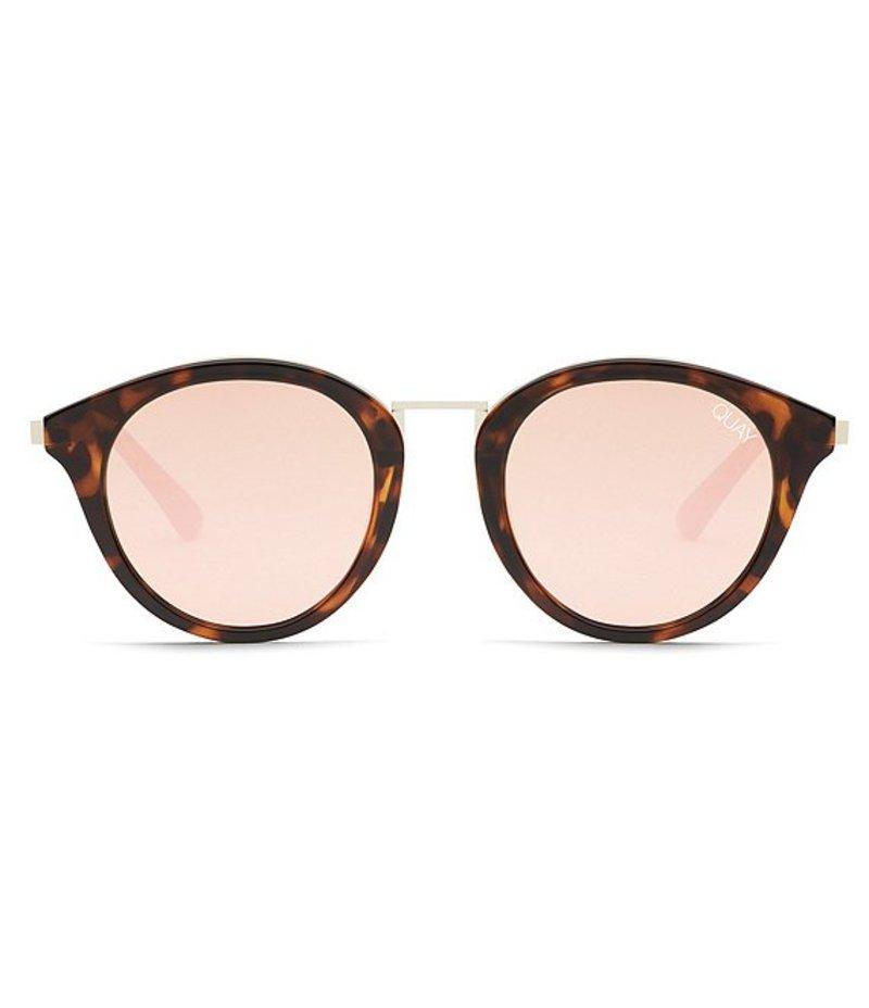 送料無料 サイズ交換無料 クアイオーストラリア レディース アクセサリー サングラス・アイウェア Tortoise Rose クアイオーストラリア レディース サングラス・アイウェア アクセサリー #QUAYXNABILLA Gotta Run Sunglasses Tortoise Rose