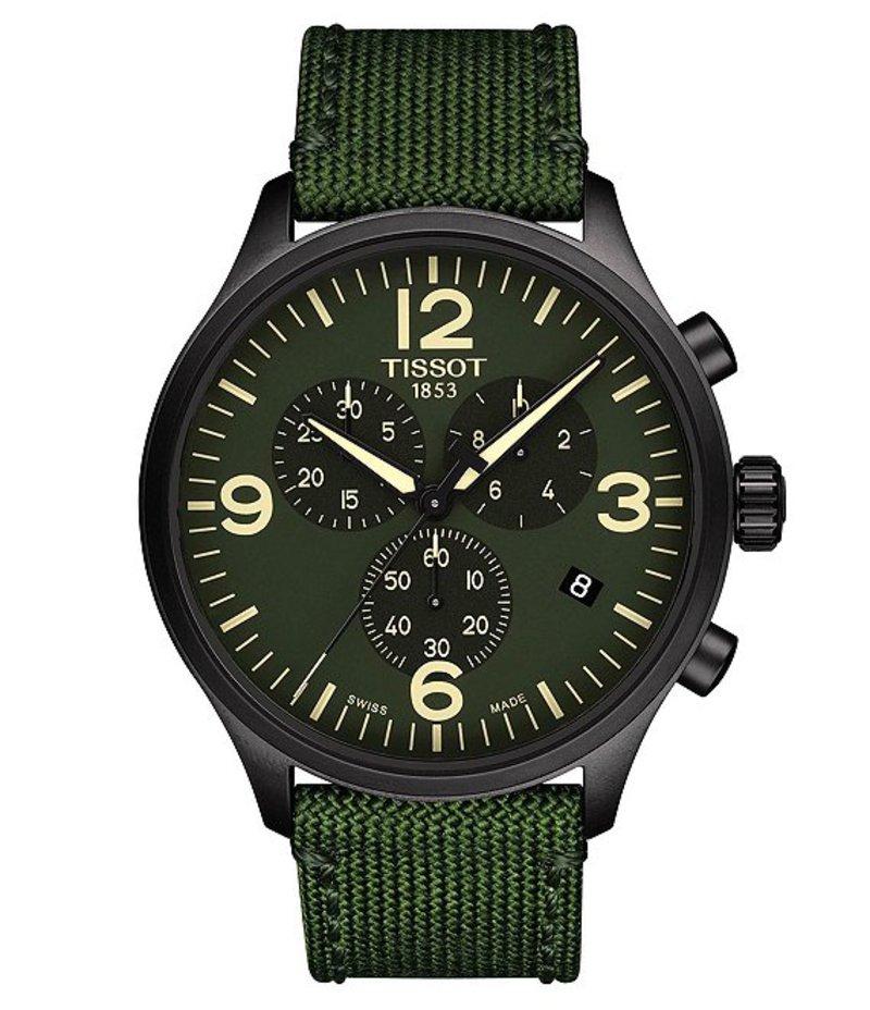 ティソット メンズ 腕時計 アクセサリー Tissort Chrono XL Watch Green