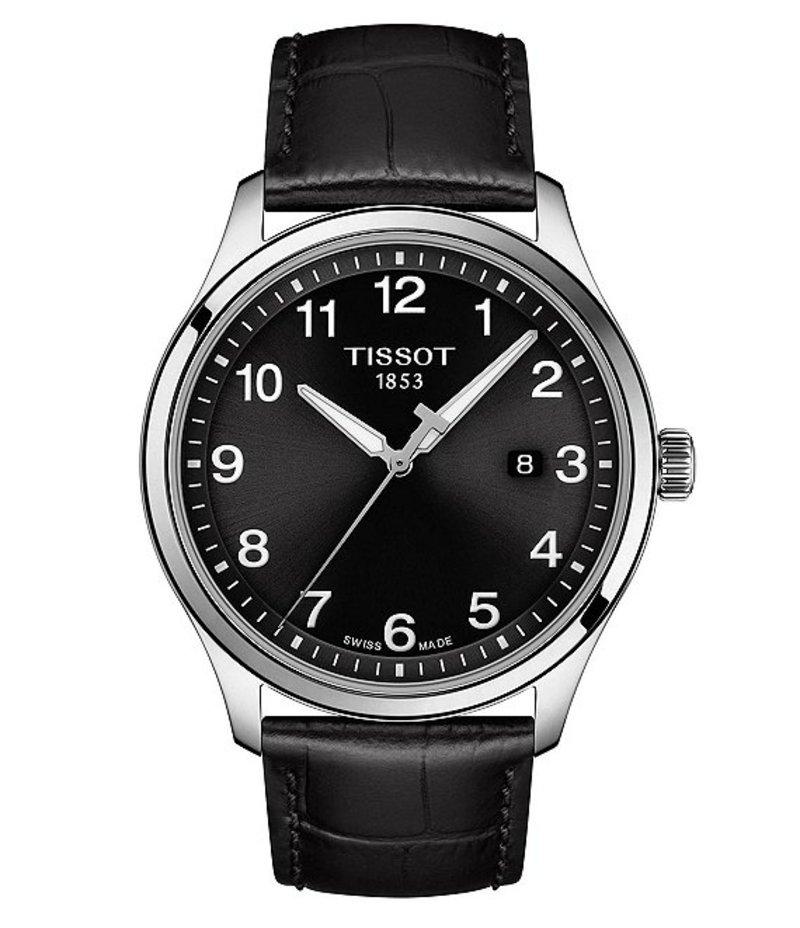 ティソット メンズ 腕時計 アクセサリー Gent XL Classic Watch Black